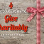 Sugars' Four Good Reasons To Give Charitably, Aside From Tax Deductions