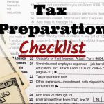 Champion Tax Service's 2017 Tax Preparation Checklist